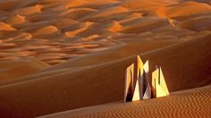 Curator Valerie Hillings introduces Heinz Mack's <em>Sahara Project</em>, and Mack reflects on why he was inspired to create and present art in a desert environment.