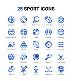 Buy Sport Equipment Line Icons by Klio on GraphicRiver. Sport Equipment Icons in Outline style. All Icons are based on shapes. Easy to change color and adjustable to any siz. Icon Set, All Icon, American Football, Icon Design, Design Art, Ball Drawing, Best Icons, Sport Icon, Handball