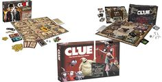 """Game: New Fun Themed Versions Of Classic Board Game 'Clue"""" – G33k-HQ"""