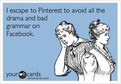 escape to Pinterest!
