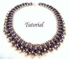 Twin Choker... beading pattern with Twin beads