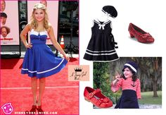 Nautical inspired look: Sefanie Scott from Disney's ANT Farm #fashion #Disney via @Hilary Morris