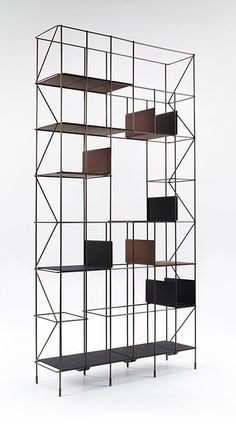Buy online Network By casamania & horm, open sectional bookcase design Eva Paster, Michael Geldmacher Modular Structure, Structure Metal, Bookshelves, Bookcase, Bibliotheque Design, Magazin Design, Outdoor Stools, Side Coffee Table, Shelf System
