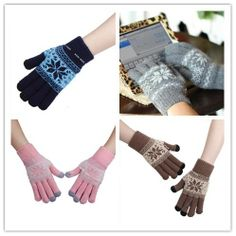 Winter Magic Touch Screen Gloves Hand Warmer For Smartphone Tablet Pad iPhone