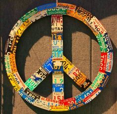 State Peace Sign.  Rhode Island is in the middle,  and I thought they may have  forgotten us!