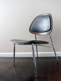 Vintage Mid Century Eames DCM Inspired Chair $225