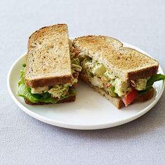 Sandwich au poulet et pesto Recette   Weight Watchers