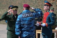 Russian Minister of Defense Awards Berkut Soldiers - March 25, 2014