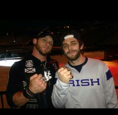 Brantley Gilbert and Thomas Rhett