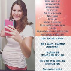 Amanda says:  At 29 weeks pregnant I feel pretty darn amazing and although I've never been pregnant before, I know that I am having such an easy pregnancy in no small part thanks to Plexus! I started these glorious products early last year because I was 29 years old, exhausted, run down, sick and gaining real weight for the first time in my life. I have always had stomach issues since childhood being nauseous more often than not, acid reflux, and a colon that would not make u
