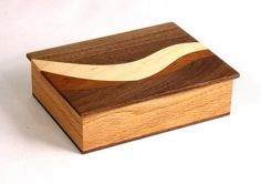 Curve inside curve wood box 69 by KevinWilliamson on Etsy