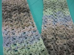 Ravelry: Free Star Fish Stitch Scarf pattern by Meladoras Creations