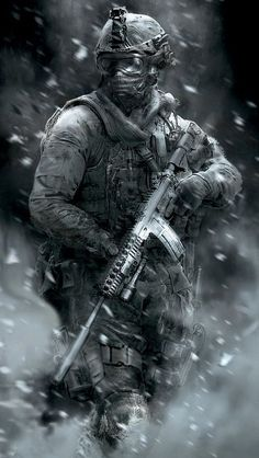I will be doing imagines about the Call Of Duty characters from the games. There are some Call Of Duty games that I haven't played but if you request one tell. Mobile Wallpaper, Handy Wallpaper, Military Guns, Military Art, Indian Army Wallpapers, Military Drawings, Military Special Forces, Future Soldier, Army Soldier