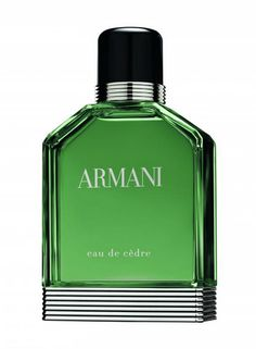 On august 24th, Armani will launch Eau de Cèdre, the fourth version of its first fragrance for men, released in 1984.