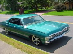 67 impala .. my dream car .. in my fave colour .. oh boy