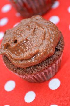 nutellás cupcake