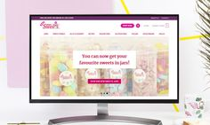 Super Sweets ecommerce site is one of the most fun project we ever had! Visit their site and enjoy range of sweets including vegan, halal, and more.  We create custom websites, contact us to discuss!  #webdesign #ecommercewebsite #SweetShop #veganfood Shopping Websites, Fun Projects, Ecommerce, Custom Design, Web Design, Range, Sweets, Vegan, Retro