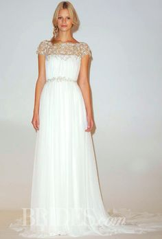 Brides.com: Marchesa - Fall 2014  | Click to see more from this collection!