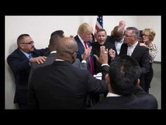 Prayer Meeting for Donald   God Can't Help Trump