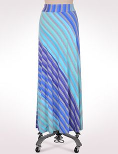 Misses | Skirts | Roz & ALI Multi Stripe Maxi Skirt | dressbarn  If I was a maxi-skirt person
