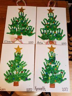 christmas crafts for preschoolers Gingerbread Man Activities - Mrs. Handprint Christmas Tree, Christmas Crafts For Toddlers, Xmas Crafts, Toddler Crafts, Christmas Trees, Christmas Cookies, Christmas Projects For Kids, Kindergarten Christmas Crafts, Christmas Collage