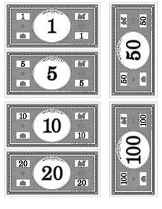Where to print your own Monopoly money   Pinterest   Monopoly money ...