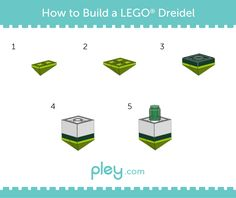 With Channukah just around the corner, you can build your own LEGO Menorah and dreidel, thanks to Pley, the leading online toy rental service