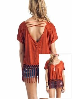Looks easy to make with old t-shirt