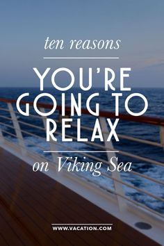 Cruise travel writer Aaron Saunders gives us a first hand review of why Viking Sea will top your list.