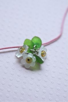 hotcakes: Shrinky Dink Flower Charms