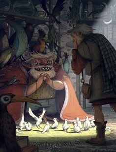 Illustration by Matt Rockefeller, via Behance