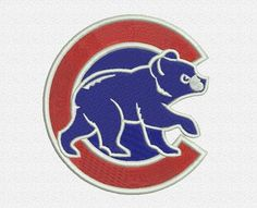 """Chicago Cubs 2 embroidery designs. Chicago Cubs Secondary Logo. Formats: CSD, DST, EXP, HUS, JEF, PES, SHV, VIP, XXX, VP3,   Sizes: 2.77x2.98"""", 3.49x3.75"""", 3.96x4.26"""".    Price 2.50$   Contacts: provokator04@rambler.ru"""