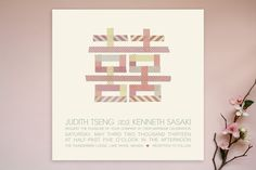 $2.04 Double Washi-ness Wedding Invitations by Frooted D... | Minted