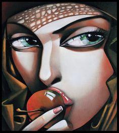 Paris Art Web - Painting - Ira Tsantekidou - Versuchung