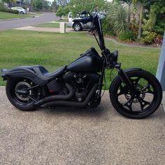 Night Train springer bobber styled - Harley Davidson Forums