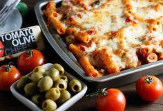mediterranean baked ziti | withloveandcupcakes.com