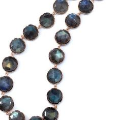 This labradorite necklace by @Irene Neuwirth is perfect for all occasions. #labradorite #necklace #rosecut #rosegold #long #layers #bling #losangeles #designer #ireneneuwirth #instagems #instajewels #singlestonemissionstreet