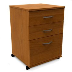 Pablo 3 Drawer File Cabinet -