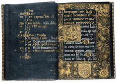 Horae beatae marie secundum usum curie romane (Black Book of Hours)  Spain ca. 1458