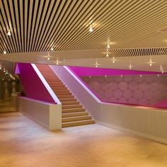 Metal Ceilings - Woodwright Deep Box Series ceiling system