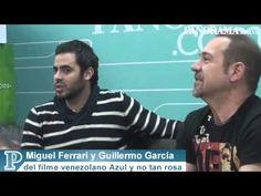 """""""Mí película no es sólo para gays"""": Miguel Ferrari, director de """"Azul y no tan rosa"""". 25-01-13"""