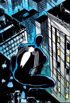 Kraven's Last Hunt Spiderman Marvel Comics Art, Old Comics, Vintage Comics, Marvel Heroes, Black Spiderman, Spiderman Art, Amazing Spiderman, Comic Movies, Comic Books Art