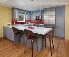 Mid Century Modern Tile Design Ideas, Pictures, Remodel and Decor