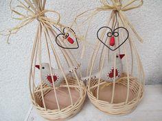 Klícka Basket, Ornaments, Holiday, How To Make, Handmade, Crafts, Home Decor, Feltro, Little Birds