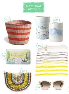 Basket from Kenya in Oh Joy blog's gift guide, December 2013