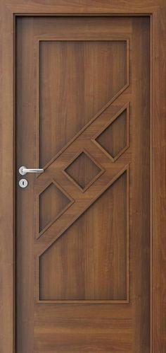 Drzwi wewnętrzne Por - September 21 2018 at Bedroom Door Design, Door Gate Design, Door Design Interior, Front Door Design, Internal Wooden Doors, Wood Doors, New Foto, Wood Exterior Door, Exterior Shutters