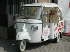 The World's Best Photos of fuorisalone and piaggio Coca Cola Light, Piaggio Ape, World Best Photos, Food Design, Street Food, Van, Italy, Ideas, Garden