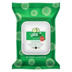 Yes To Cucumbers Face Cleanser Towelettes - 30ct. : Target