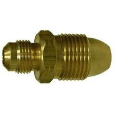 34041 | Midland | 3/8 FLARE X POL ADAPTERR | Brass Fittings | POL | Adapter