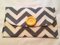 DIY: Diaper Clutch.no tutorial, but very simple!